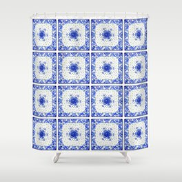 Dutchie Blues 1 Shower Curtain