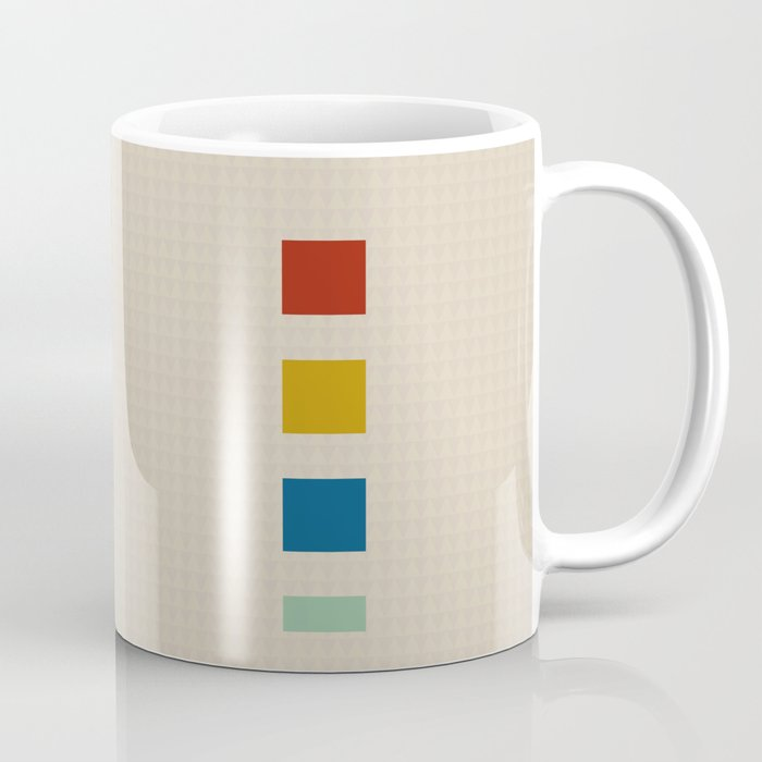 four elements || tweed & primary colors Coffee Mug