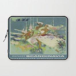 Vintage poster - Scandinavia Laptop Sleeve