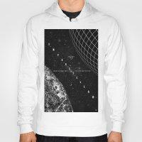 interstellar Hoodies featuring Interstellar by Amanda Mocci