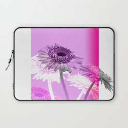 flowers are flowers and pink is the warmest color Laptop Sleeve