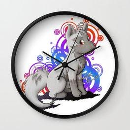 Poochyena :3 Wall Clock