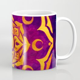 """Witchcraft""  WATERCOLOR MANDALA (HAND PAINTED) BY ILSE QUEZADA Coffee Mug"