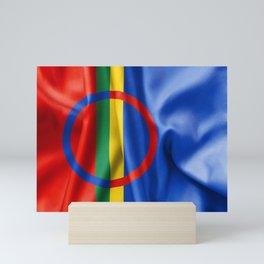 Sami Flag Mini Art Print