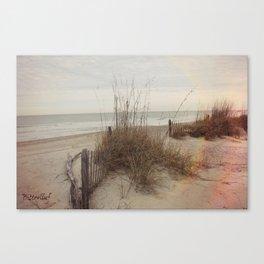 Beach Flare Canvas Print