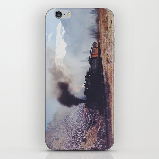 Mountain Train iPhone & iPod Skin