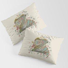 Celtic Initial Z Pillow Sham