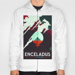 Vintage poster -Enceladus Hoody