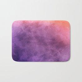 Purple Watercolors Bath Mat