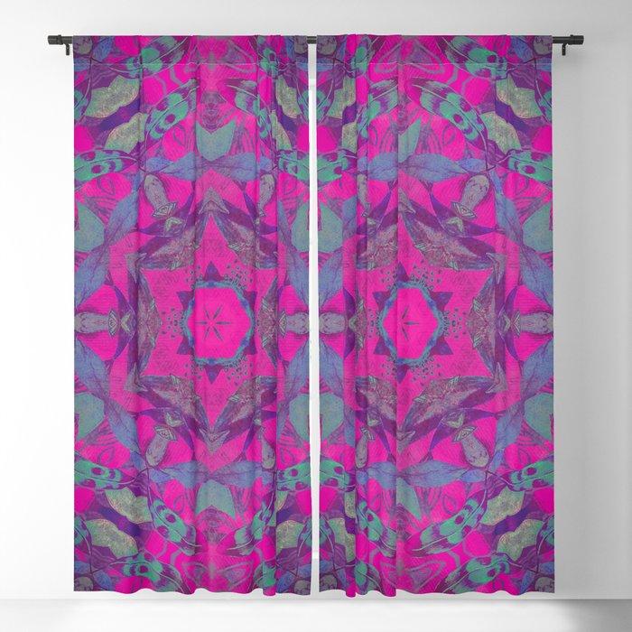 magic mandala 51 #mandala #magic #decor Blackout Curtain