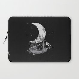 Moon Ship Laptop Sleeve