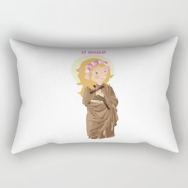 Saint Rosalia Rectangular Pillow