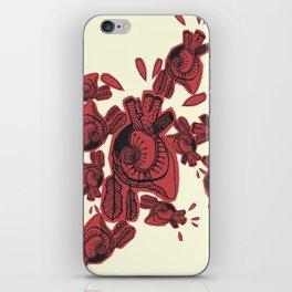 Gipsy heart iPhone Skin