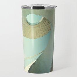 Spiral staircase in pastel tones Travel Mug