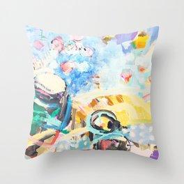 khjk Throw Pillow