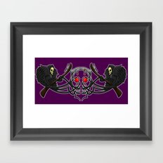reaper birds Framed Art Print