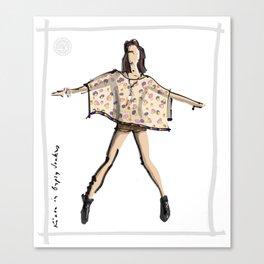 Kiara in Gypsy Junkies Canvas Print