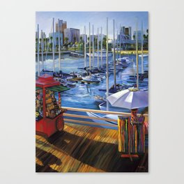 A View from Shoreline Village Canvas Print