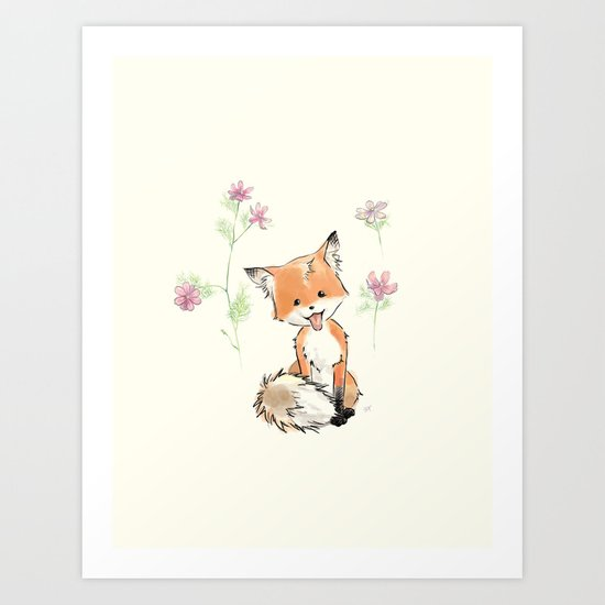 to give you more happy  Art Print