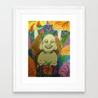 buddah Framed Art Prints featuring Wedding Buddah by Manuel Estrela 113 Art Miami