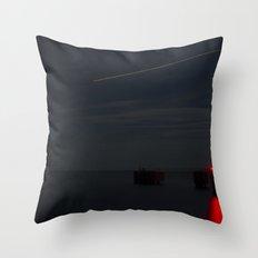 Martha's Vineyard Pier Glow. Throw Pillow