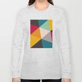 Geometric Triangles Long Sleeve T-shirt