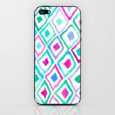 Watercolour Ikat II iPhone & iPod Skin