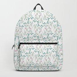 Topsy Turvy Flower Pattern Backpack