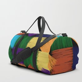 Geometric Colorfull Pattern Duffle Bag