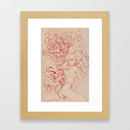 Animal Brain Framed Art Print