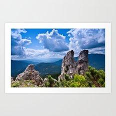 Nature love #landscape Art Print
