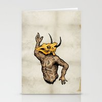 taurus Stationery Cards featuring Taurus by sociopteryx