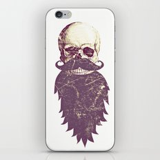 Beard Skull 3 iPhone & iPod Skin
