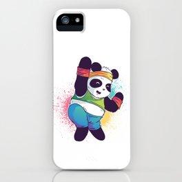 Fitness Panda iPhone Case