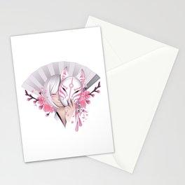Pink Manga Stationery Cards