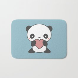 Kawaii Cute Panda Bear Bath Mat