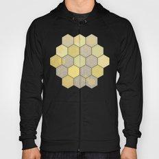 Lemon & Grey Honeycomb Hoody