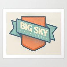 Big Sky, Montana Art Print