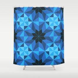Deconstructed Diamond Shower Curtain