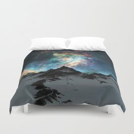 NORTHERN LIGHT ALASKA Duvet Cover