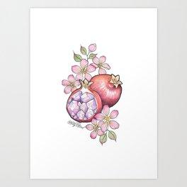Pomecrystal Art Print