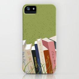Books in Nature iPhone Case