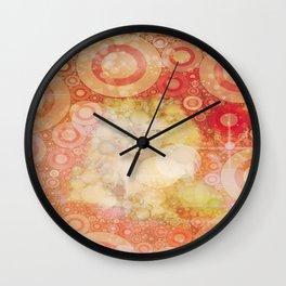 Kringles Art by Kyra Wall Clock