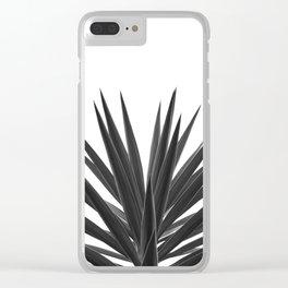 Succulent Photographic Print Clear iPhone Case