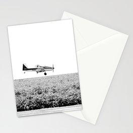 Plane Landscape Stationery Cards
