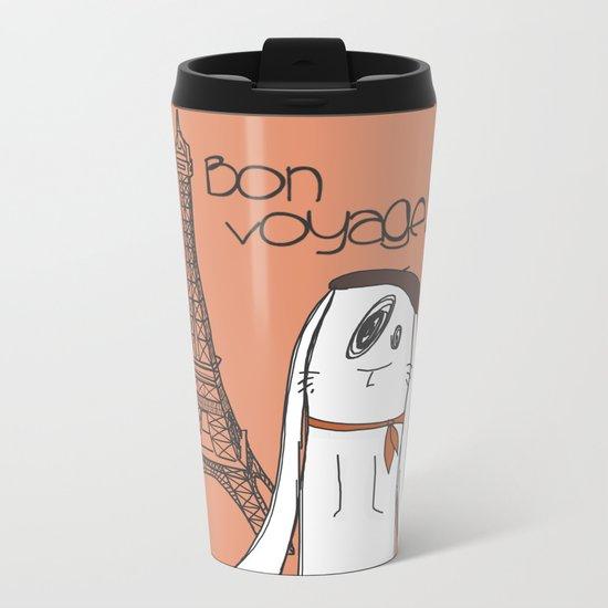 Bon Voyage! Metal Travel Mug