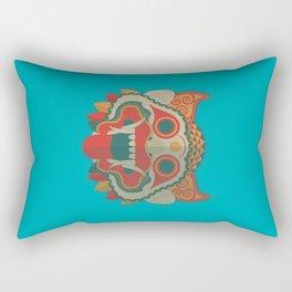 Paper Mask Rectangular Pillow