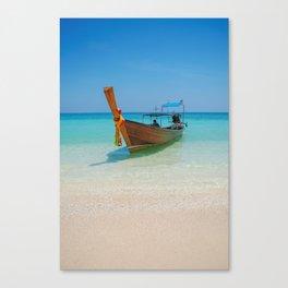 Bamboo Island Canvas Print