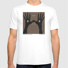No061 My Pans Labyrinth minimal movie poster White Mens Fitted Tee MEDIUM