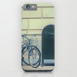 Bicycles and Mailbox iPhone Case